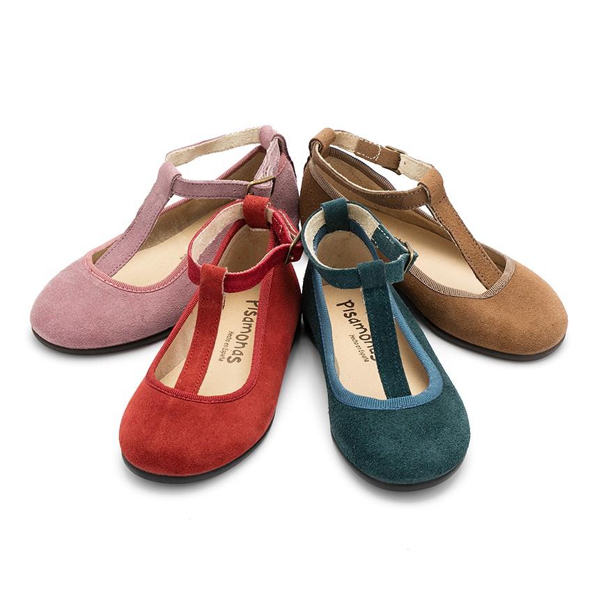 Sapatos de camurça